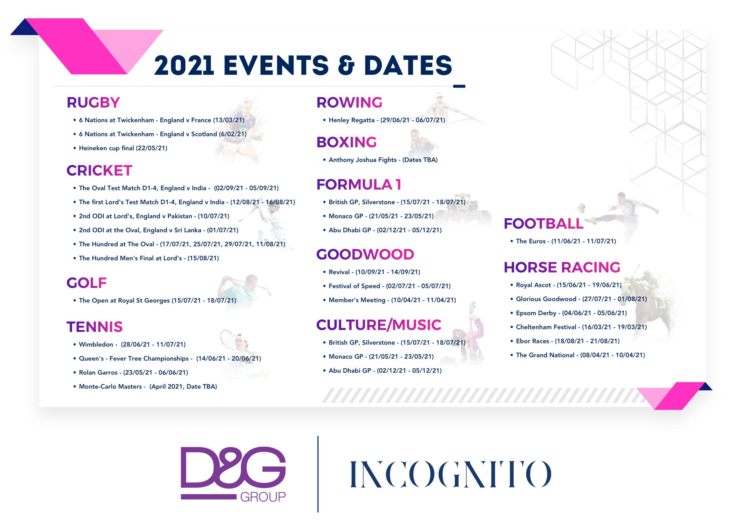 DG Events 2021